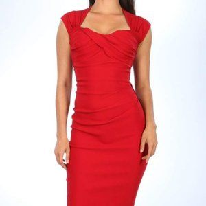 Stop Staring Love Dress Red Size M NWT
